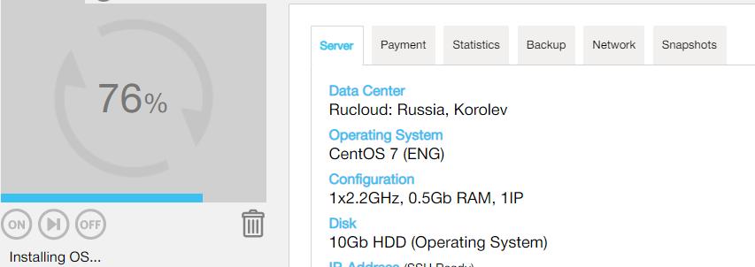 ruvds为啥系统一直卡在76%?CentOS 7